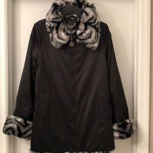 Dennis Basso Reversible Winter Coat NWOT